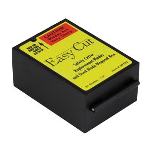 Labels Plus Inc Easy Cut Safety Blades & Disposal Unit