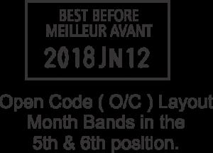 8.22 OC label